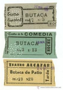 entradas de teatro para espectadores