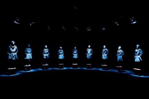 Nameless Hands, de la compañía de danza Noism. Teatros del Canal en Madrid