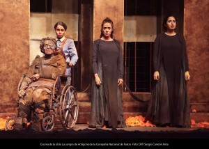 la sangre de antígona obras de teatro en madrid