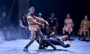 iliada en el teatro valle-inclán
